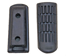 Honda CBR600F footrest rubbers front, pair (1992-1998) not genuine