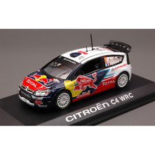 CITROEN C 4 N.7 PORTUGAL RALLY 2010 OGIER 1:43 Norev Auto Rally Die Cast