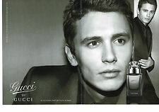 PUBLICITE ADVERTISING 114  2008  GUCCI  by GUCCI  parfum homme ( 2 pages)