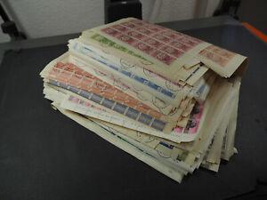 Interessanter Jemen Posten mit über 410 gestempelten Bögen (2,5kg), RIESEN KW !