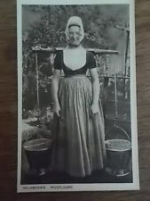 Dutch Postcard Milk Maid with Pales Zealand Holland Netherlands 1905 Real Photo