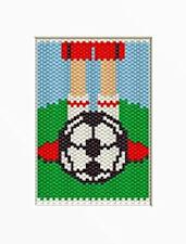 Love Of Soccer Beaded Banner Pattern