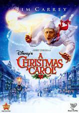 WALT DISNEY'S A CHRISTMAS CAROL - NEW DVD (JIM CARREY as SCROOGE)