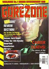 GoreZone UK Magazine #35 Sept 2008 Otis The Chair Vanguard Batman Dark Knight