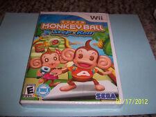 Super Monkey Ball: Step & Roll  (Wii, 2010) NEW