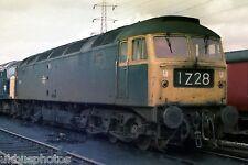 British Rail Class 47 Toton Depot Nottingham 1979 Rail Photo