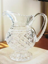 Waterford Crystal HEIRLOOM Pitcher 1996 Waterford Society  Ltd Ed SIGNED - NICE!