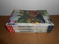 Roadsong vol. 1-3 Manga Graphic Novel Book Complete Lot in English