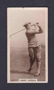 Harry Vardon J. Millhoff & Co Ltd Famous Golfers Golf Golfing Card #5.