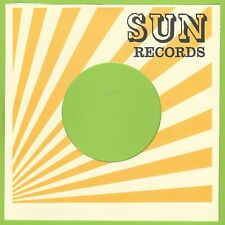 SUN RECORDS (light orange) REPRODUCTION RECORD COMPANY SLEEVES - (pack of 10)