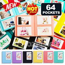 Premium J 64 Pockets Polaroid for Fuji Film Instax Mini Photo Album Hardcover