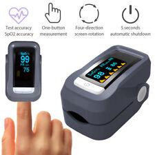 OLED Fingerpulsoximeter SpO2 Pulsoxymeter Pulsmessgerät Blut-Sauerstoff Oximeter