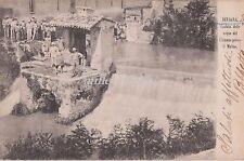 BEVAGNA - Caduta delle acque del Clitunno presso il mulino 1905