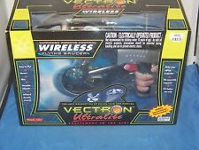 VECTRON Ultralite Infrared RC Remote Control Wireless Flying Saucer With CD NIB
