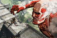 Attack on Titan Poster  Colossus Titan size 24x36