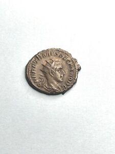 ROME HERENNIUS ETRUSCUS AD 251 SILVER ANTONINIANUS  /APOLLO