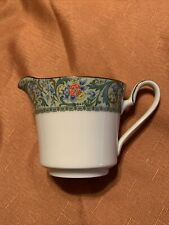 NORITAKE china ISOLDE 7019 pattern CREAMER Cream Pitcher or Jug Floral