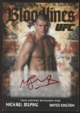2009 Topps UFC Round 2 Michael Bisping Bloodlines Red Ink Auto SP /25