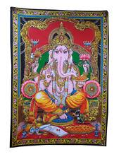 Indian Handmade Elephant God Ganesh print Poster Tapestry Lord Ganesh Wall Decor
