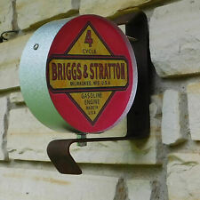 Briggs & Stratton Small Engine logo emblem miniature wall post service Sign Usa