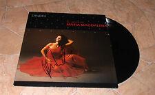 Sandra * maría magdalena *, original signed LP-cover * maría magdalena * + LP