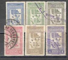 R8554 - VENEZUELA 1950 - LOTTO AEREA CENSIMENTO - VEDI FOTO