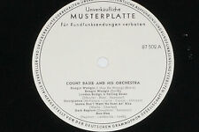 COUNT BASIE AND HIS ORCHESTRA - LP Promo Archiv-Copy
