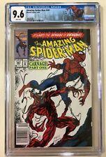 Amazing Spider-Man #361 CGC 9.6. 1st  App Carnage. Newsstand. Custom Label.