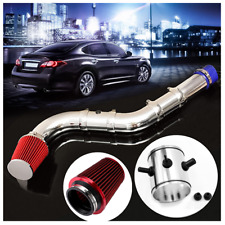 Car Intake Cold Air Filter System With Airflow Injection Pipe/Clamp/Adapters Kit