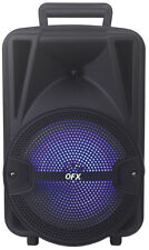 QFX PBX-89 Rechargeable Party Speaker +TWS Bluetooth +USB/SD/FM/RGB +Free Mic