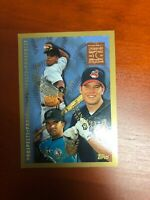 1997 Topps Sean Casey Rookie Card ..rare Minted in Cooperstown Aramis Ramirez RC