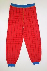 Marvel Ultimate Spider-Man Boy's Red Graphic Pajama Pants Size 7 NEW