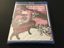 The Curious Female (Blu-ray 1969) Paul Rapp Angelique Pettyjohn, Region Free