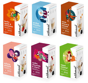 nöhmal ® 96 Dolce Gusto ® Kapseln Kompatibel Mix Mandel Tiramisu Kokos Kirsch ..