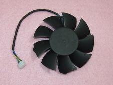 75mm ATI NVIDIA Fan Replacement 45x56x69mm 4Pin AVC DASB0815B2U 12V 0.6A M741 QL