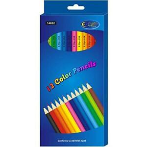 AUKSales Coloring Pencils, 12 Count, Boxed, ( Inners of 24) , Case Pack of 72, I