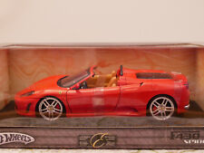 HOT WHEELS FERRARI  F430 SPIDER ART.G7222 1:18 NEW