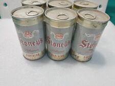 Vtg Beer Can 6 Pack Stoney's Pilsener Jones Brewing Smithton Pa Straight Steel
