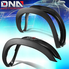 FOR 02-09 DODGE RAM PAINTABLE BLACK ABS 4PCS WHEEL FENDER FLARES FACTORY STYLE