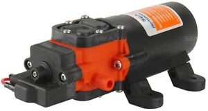 ✅ Pompa per Impianto Idrico a Membrana Autoadescante a Secco 1,2 gal/min 12 V