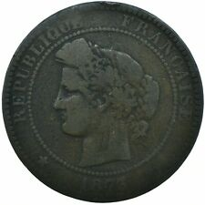 COIN / FRANCE / 10 CENTIMES 1873   #WT19553