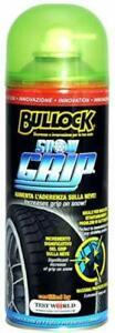 Bullock Snow Grip spray 400 ml aumenta aderenza gomme sulla neve catena liquida