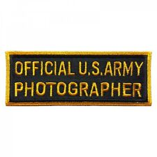 Ecusson / Patch - Official U.S. Army Photographer