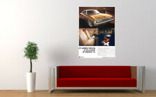 """1972 VH CHRYSLER VALIANT REGAL 770 AD PRINT WALL POSTER PICTURE 33.1""""x23.4"""""""