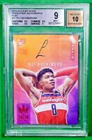 2019 Court Kings Rui Hachimura Fresh Paint Ruby Rookie Auto #/99 BGS 9 Auto 10