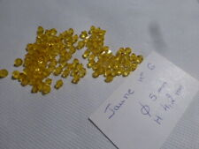 top affaire lot 100 perle très anciennes tub émaux de BRIARE BAPTEROSSES jaune