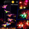 ⭐Color-Changing LED Solar Powered Butterfly Wind Chime Lights Yard Garden Decor⭐