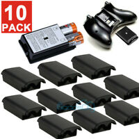 10 PK AA Battery Back Cover Case Shell Pack For Xbox 360 Wireless Controller