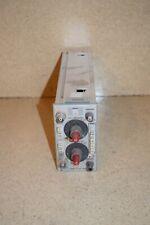 Tektronix 5a18n Dual Trace Amplifier Tp607