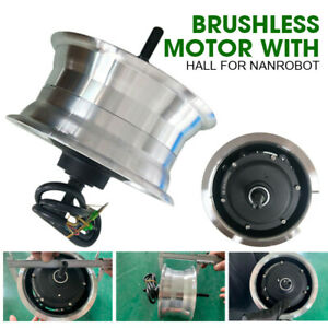 "11"" 60V 2800W Brushless Motor With Hall Sensor For Nanrobot Electric Scooter"